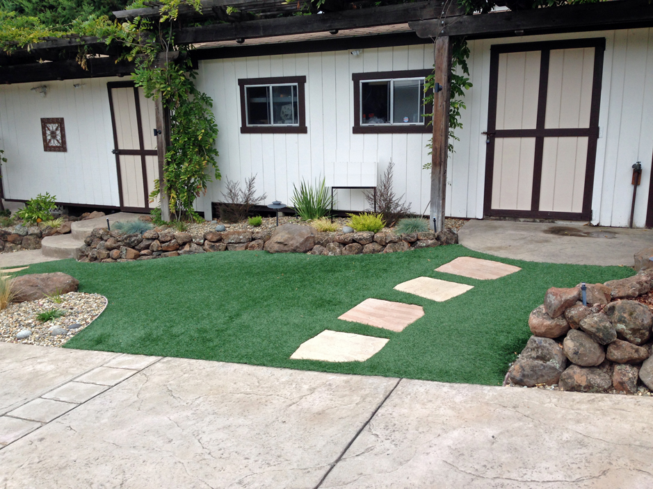 Artificial Turf Shedd Oregon Lawn And Landscape Small Front Yard