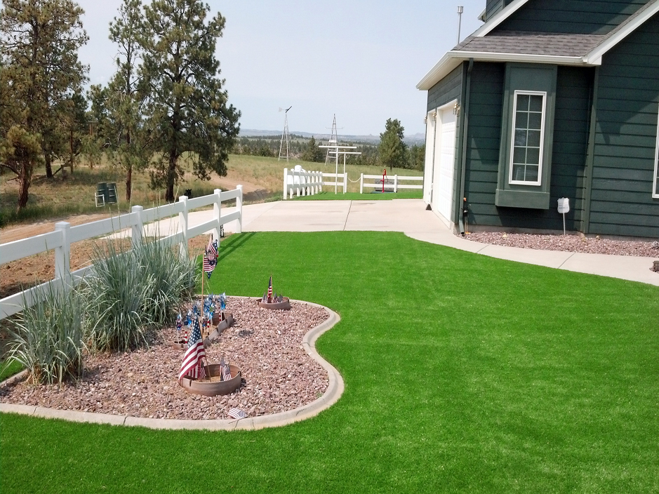 Fake Grass West Slope Oregon Landscaping Front Yard Ideas