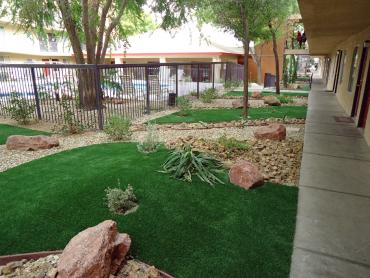 Artificial Grass Photos: Artificial Grass Carpet Beaver Creek, Oregon Paver Patio, Commercial Landscape