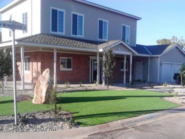 Artificial Grass Photos: Artificial Grass Wood Village, Oregon Lawn And Landscape, Front Yard