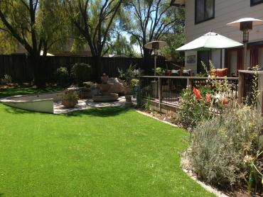 Artificial Grass Photos: Artificial Lawn Warm Springs, Oregon Paver Patio, Backyard Makeover