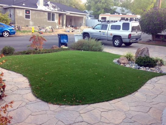 Artificial Grass Photos: Fake Grass Fossil, Oregon Landscaping, Front Yard Landscape Ideas