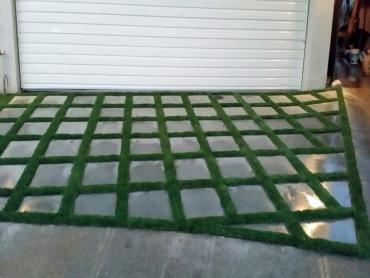 Artificial Grass Photos: Faux Grass Westport, Oregon Backyard Deck Ideas, Small Front Yard Landscaping