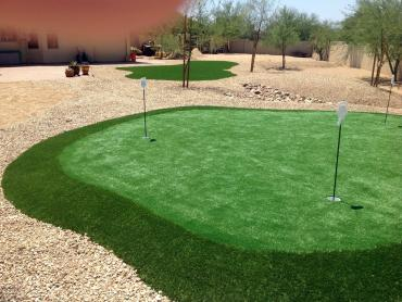 Artificial Grass Photos: Grass Installation Kings Valley, Oregon Backyard Putting Green, Backyard