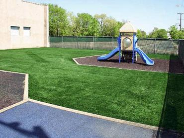 Artificial Grass Photos: Installing Artificial Grass Aumsville, Oregon Backyard Playground, Commercial Landscape