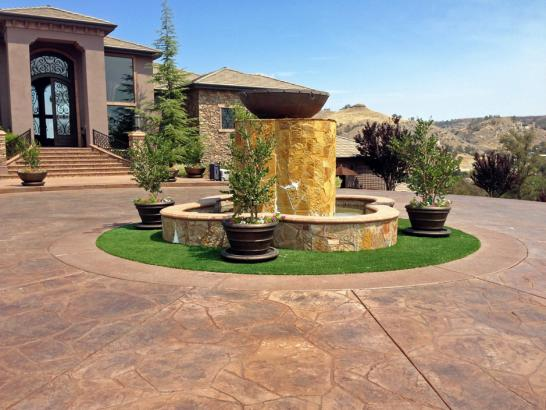 Artificial Grass Photos: Synthetic Grass Cost Lincoln City, Oregon Landscaping, Front Yard