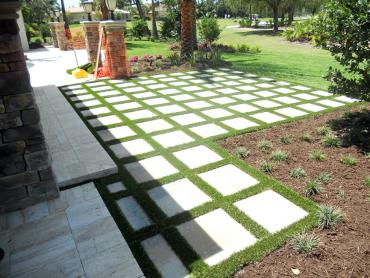 Artificial Grass Photos: Synthetic Grass Gopher Flats, Oregon Paver Patio, Backyard Garden Ideas