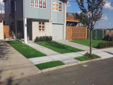 Artificial Grass Photos: Synthetic Turf Brooks, Oregon Landscape Ideas, Front Yard Landscaping